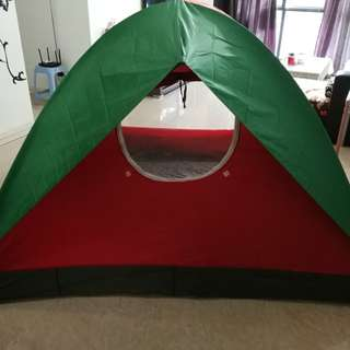 large double resident tent