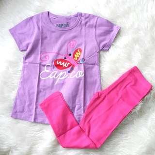 Set Kaos legging anak 6 tahun #ImlekHoki