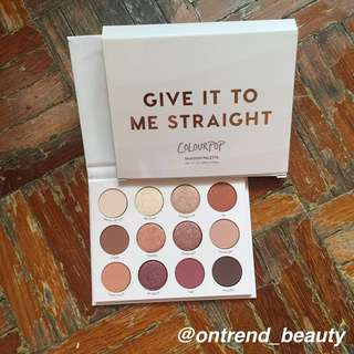 Colourpop Give it to me straight #15off