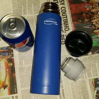 Thermos全新但有少花保溫瓶,500ml, 未用品,Thermos vaccum hot water bottle, new but having little scratches, trade in Tuen.Mun, 屯門交收