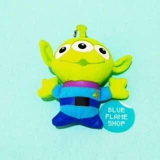 boneka gantungan keychain karakter alien little green man toy story