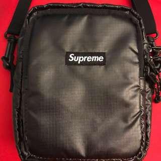 Supreme fw17 shoulder bag black