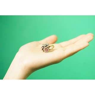 古典花戒指