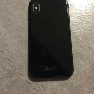 Iphone x case iphone 7 iphone 7 plus iphone 玻璃case 琉璃case 機壳 隱形磁石case 玻璃mon 貼 wk design