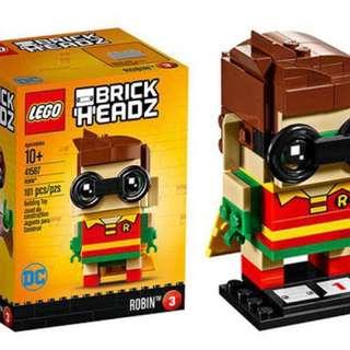 Lego BrickHeadz Batman, Robin and Joker