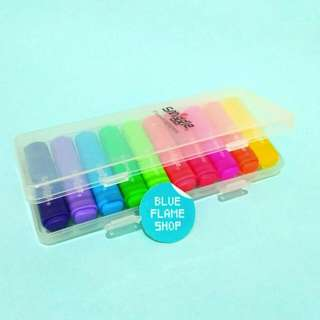 spidol set warna warni smiggle scented highlighter stabilo anak