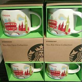 星巴客 starbucks 新款 馬克杯 城市杯 英國倫敦 london