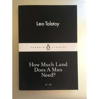 "BN ""How Much Land Does a Man Need?"" by Leo Tolstoy"
