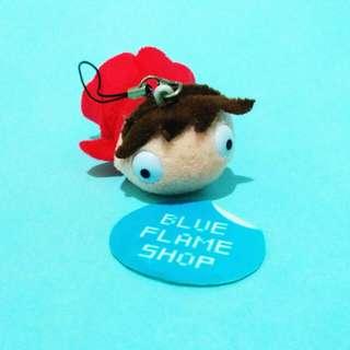 boneka keychain karakter ponyo dari movie hayao miyazaki