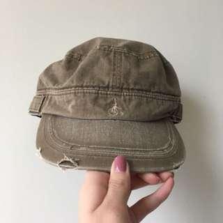 Vintage Olive Green Hat