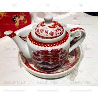 Wedding Tea Set & Money Box Betrothal Guo Da Li