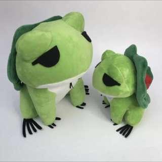 旅行的青蛙周邊 蛙的旅行 青蛙動漫 公仔