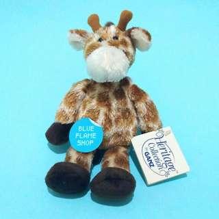 boneka karakter binatang jerapah animal giraffe