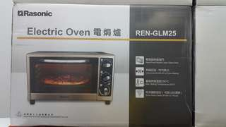 RASONIC ELECTRIC OVEN 樂信電焗爐 25升