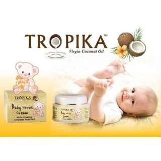 TROPIKA Baby Herbal Cream - 50gm