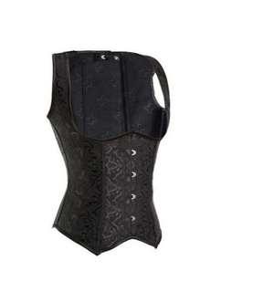Black Corset top with underbust cut