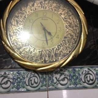 Jam Dinding hiasan Moslem