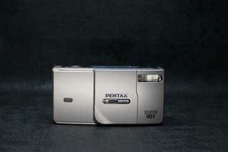 Pentax espio 140v mini point and shoot 135 film camera tested working 菲林傻瓜相機