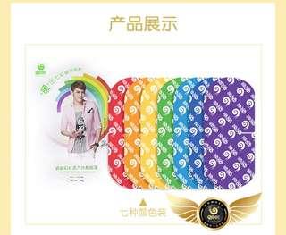 Wowo Rainbow Steam Eye Mask