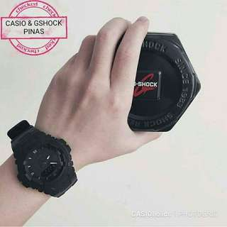Gshock blk watch