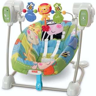 FisherPrice - Safari Floor Swing