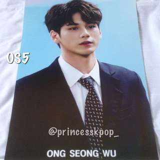 WANNA ONE ONG SEONG WU