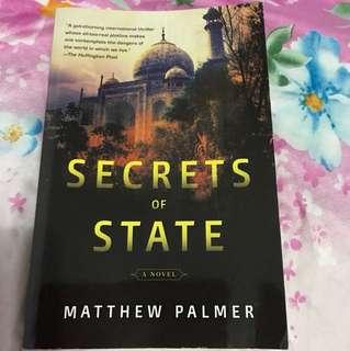Secrets of state - by Matthew Palmer