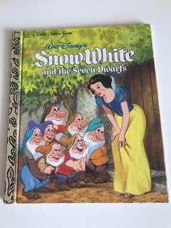 Snow White And The Seven Dwarfs - Little Golden Book