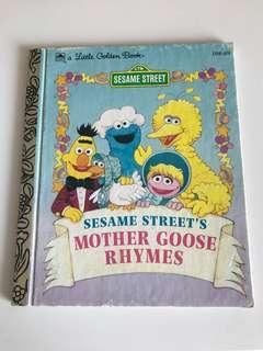 Sesame Street - Mother Goose Rhymes - Little Golden Book