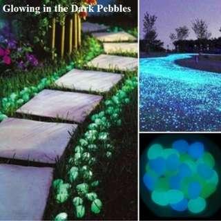 Glowing in the Dark Pebbles