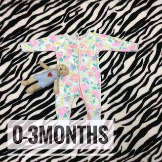 Bonds Wondersuit Sleepsuit 0-3months Original