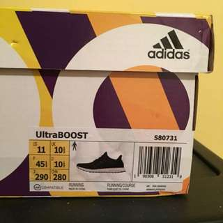 Adidas Ultraboost Core Black | US 11