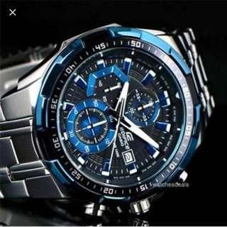 全新 casio edifice efr539d 男裝手錶