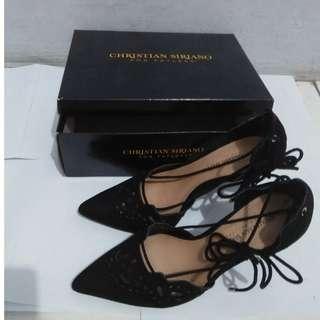 Buy 1get1 NEW Heels christian siriano black free crocs