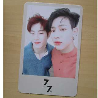 WTT GOT7 _ 7 For 7 Present Edition MarkBam Unit ver