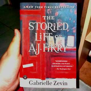 The Storied Life Of A.J.Fikry by Gabriella Zevin