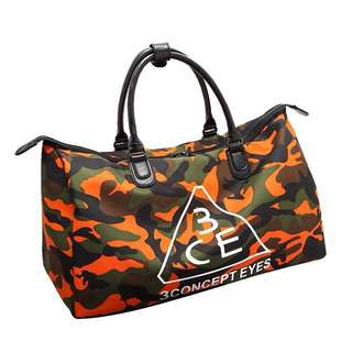 Orange 3CE Duffle Bag