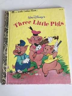 Three Little Pigs - Little Golden Book