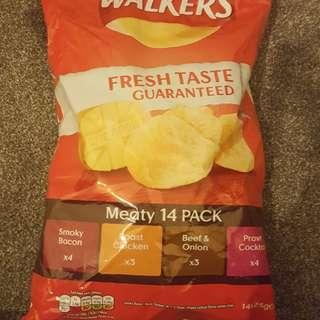 Walkers薯片