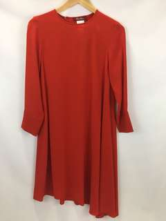 NWT MaxMara Studio asymmetrical dress women's size 6 MRSP $825 ***READ***
