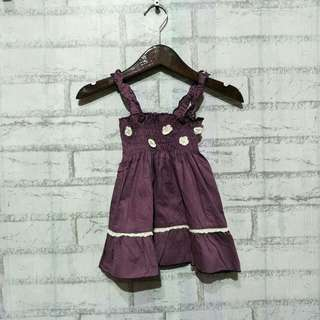 Dress baby import  6 - 12 bulan LD 30cm Panjang 40cm  40ribu  Sapa cepat dia dapat😍