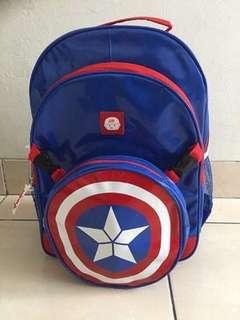 Tas Punggung / Backpack Captain America