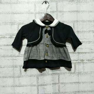 Dress baby import  6 - 9 bulan LD 30cm Panjang 30cm  40ribu  Sapa cepat dia dapat😍
