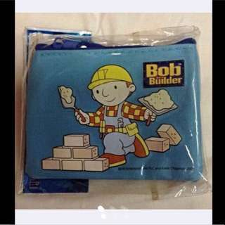 Limited Edition Bob Builder Pouch (Brand New With Price tag) - left Only 2 pcs