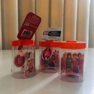 Take All One Direction goodies (3 Head phone charms + 1 Harry Figurine Key Chain)