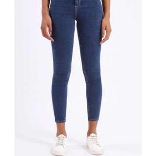 3 pairs TopShop Joni Petite Jeans