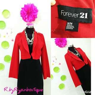 🚫SALE🚫 Forever 21 Crop Blazer