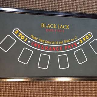 Blackjack, Roulette, and Craps Board Game