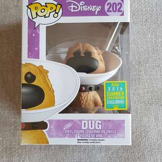 Disney Dug (cone of shame)funko pop vinyl