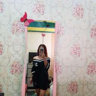 Oversized Offshoulder dress